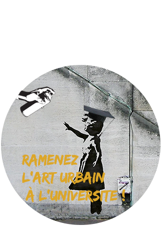 Logo - Ramenez l_art urbain à l_unversité